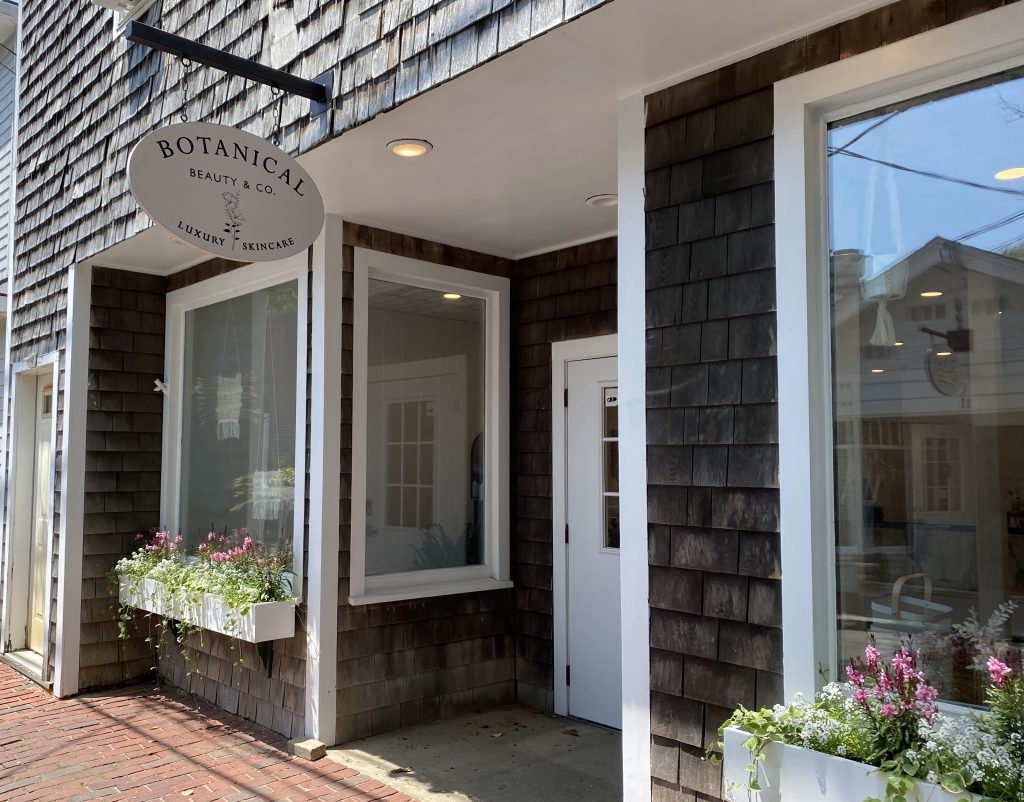 Botanical Beauty & Co. Clean beauty Self care Edgartown Visit Edgartown Summer 2021 Martha's Vineyard  Point B Realty