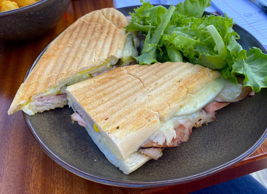 Katama Kitchen Cubano Cuban inspired sandwich Visit Edgartown Martha's Vineyard  New for Summer 2021 Point B Realty