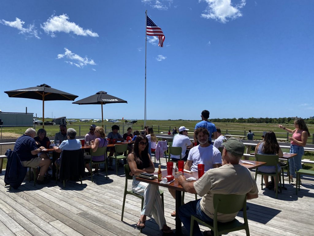 Katama Kitchen At The Right Fork On Martha's Vineyard Outdoor Dining  Visit Edgartown Martha's Vineyard  New for Summer 2021 Point B Realty