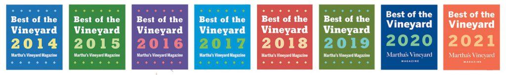 Best of the Vineyard Martha's Vineyard  Point B Realty Best of the vineyard 2021
