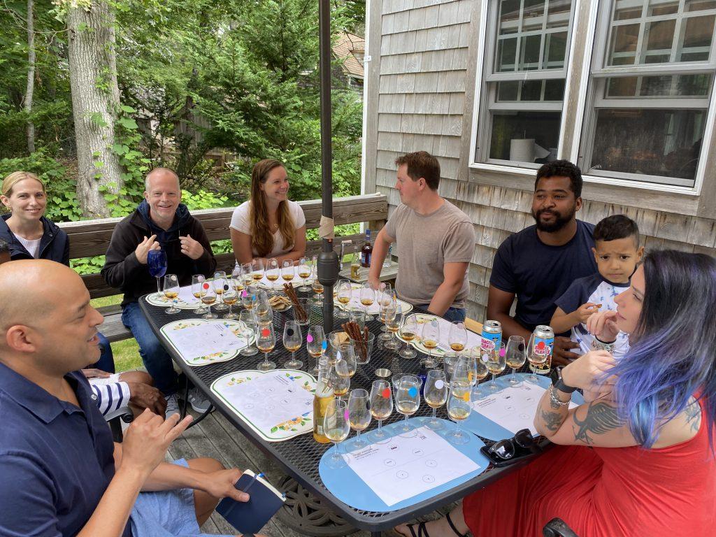 Taste Select Repeat Neat Rocks Cocktail Barrel Picks Private Tasting Martha's Vineyard