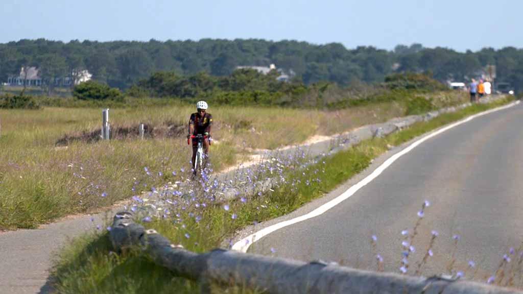 Martha's Vineyard Bucket List: Biking Biking along Sengekontacket