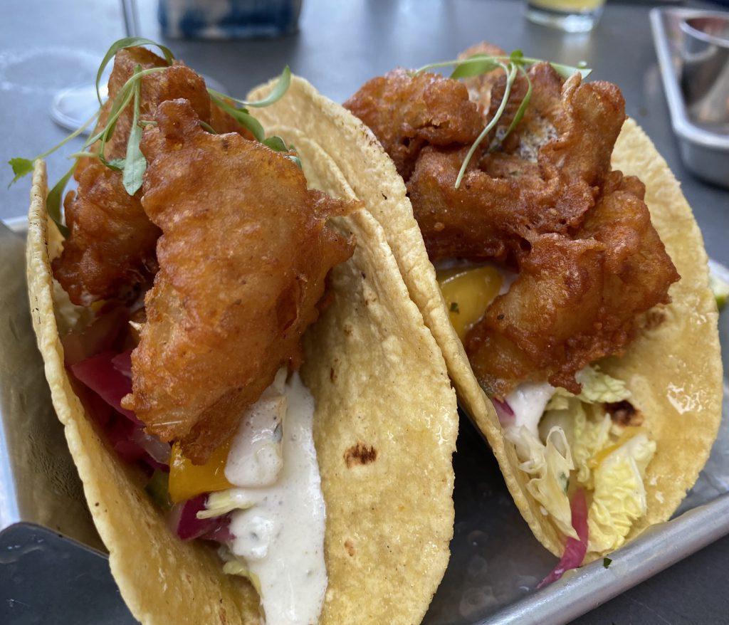 Fish Tacos Fish MV Martha's Vineyard  Vineyard Haven New dining on Martha's Vineyard