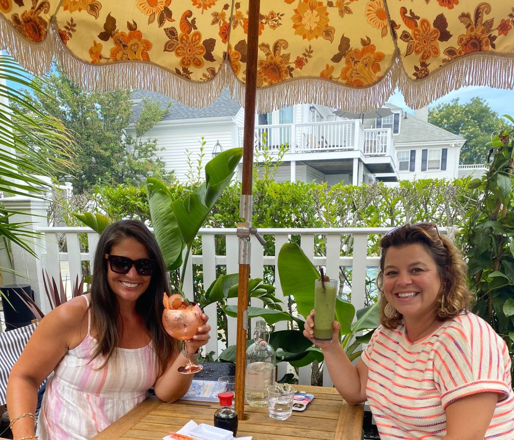 This Summer's Chicest Edgartown Dining Spot Is The Pelican Club Cocktails Drink Menu  Kelley House Visit Edgartown Edgartown Martha's Vineyard Where to eat on Martha's Vineyard  Point B Realty