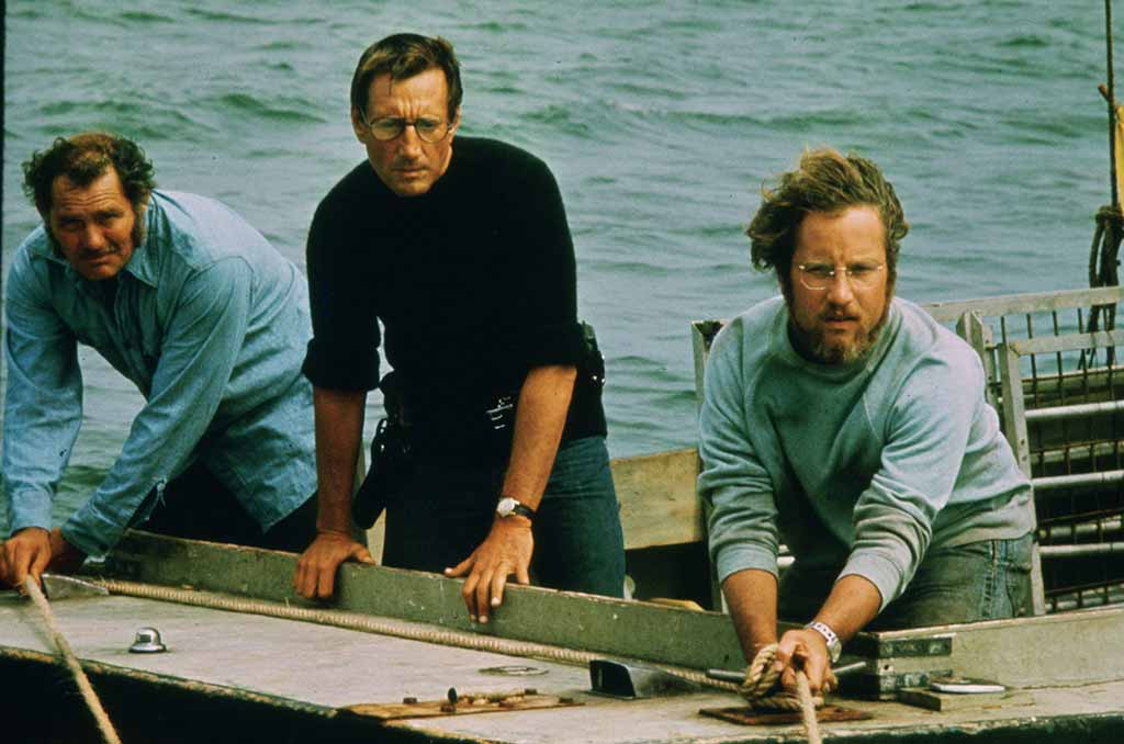 Martha's Vineyard Bucket List: Jaws Movie Location Tour Actors Robert Shaw Roy Scheider Richard Dreyfuss Fight Jaws Aboard The Orca
