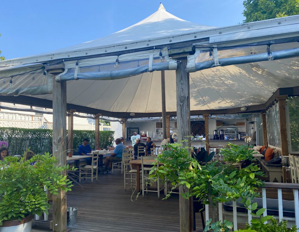 Atria Cafe Is A Breakfast Treat In Edgartown Outdoor Breakfast Under The tent Visit Edgartown  Martha's Vineyard Atria