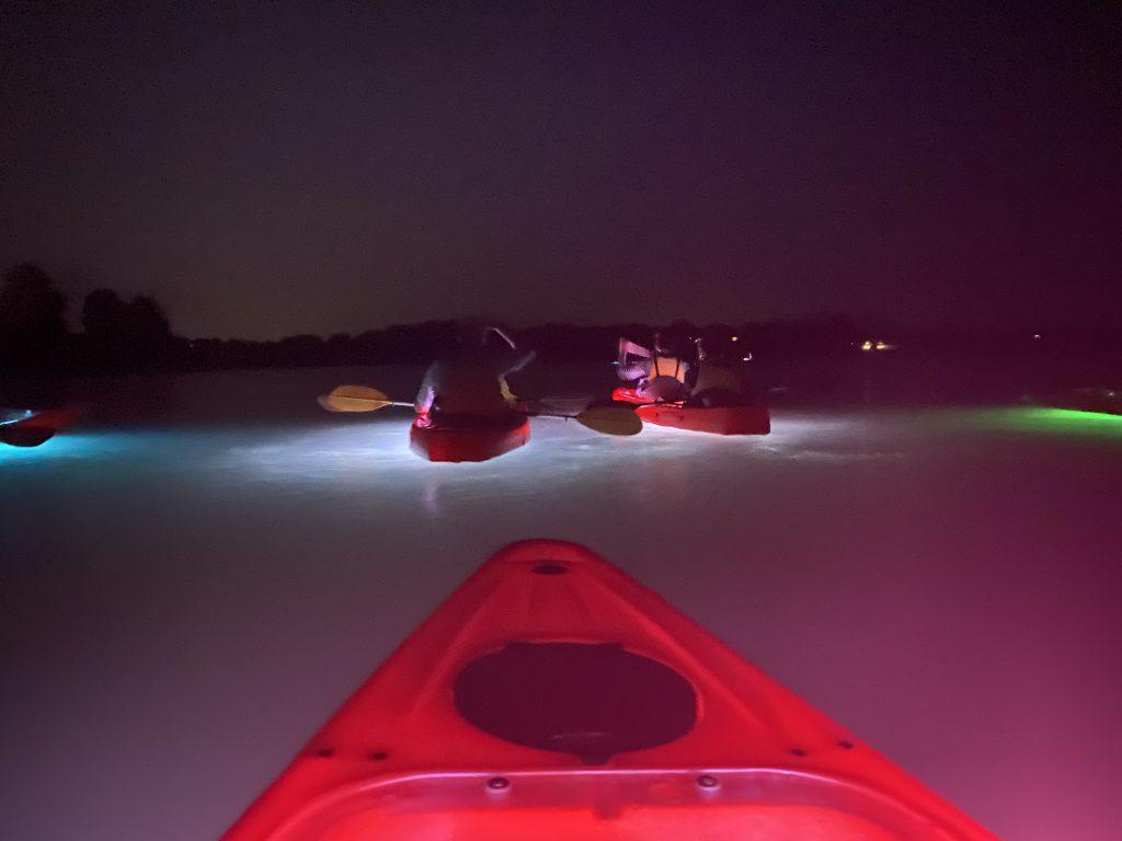 Glow Kayak Island Spirit Kayak Martha's Vineyard Visit Martha's Vineyard