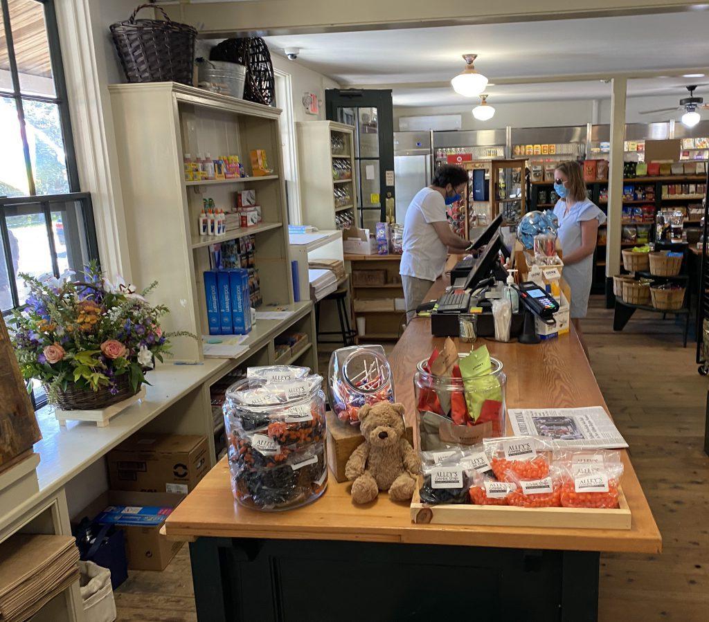 Alley's General Store West Tisbury Martha's Vineyard Vineyard Trust Up-Island