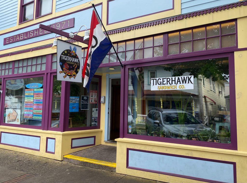 Tigerhawk Sandwich Co. Oak Bluffs Martha's Vineyard  Chef owned Jimmy Alvarado Nathaniel Wade