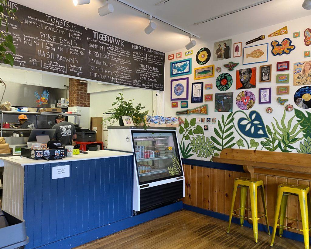 Tigerhawk Sandwich Co. Oak Bluffs Althea Designs Martha's Vineyard  Chef owned Jimmy Alvarado Nathaniel Wade
