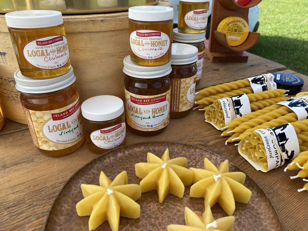 West Tisbury Farmers Market Island Bee Company Made on Marthas Vineyard  Fall on Martha's Vineyard  Shop local Eat Local